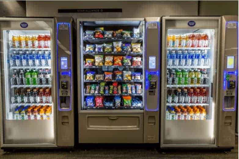 How much does a vending machine cost
